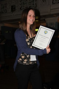Best poster - Rachel Colledge for Mel Figtree